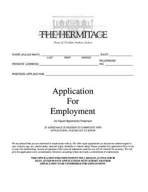 An application - The Hermitage