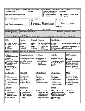 Food Pantry Client Intake Form