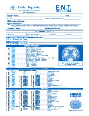 Fillable Online Patients Forms Doshi Diagnostic Fax Email