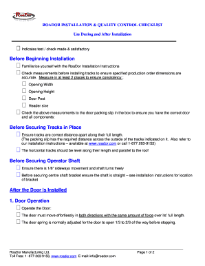 Printable quality control forms and checklists - Fill Out & Download