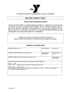 employment application form california templates fillable