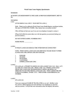 questionnaire refugee community center pdf