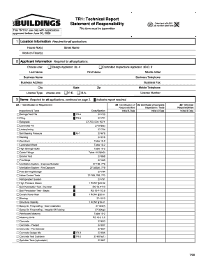 2008 Form NYC Buildings TR1 Fill Online, Printable, Fillable ...