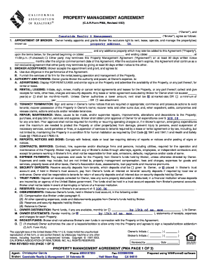 Property Management Agreement Form - Coastside Realty and ...