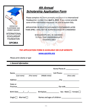 Scholarship Forms Template Masonic Scholarship Poster Fill Online Printable