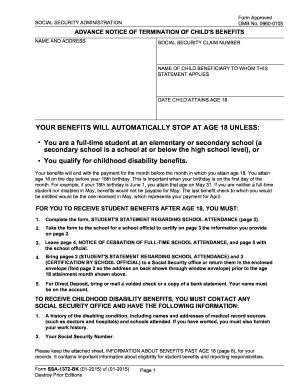 ... Form SSA-1372-BK Fill Online, Printable, Fillable, Blank - PDFfiller
