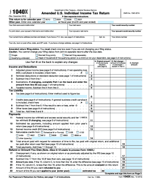 2010 form 1040x