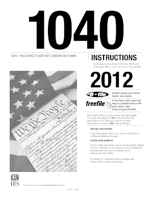 2012 tax forms 1040ez templates fillable printable for 1040 table 2012