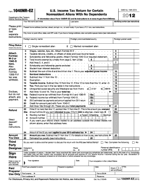 2013 irs form 1040 instructions
