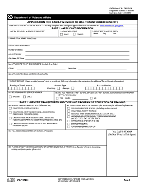2012 2019 Form Va 22 1990e Fill Online Printable Fillable Blank