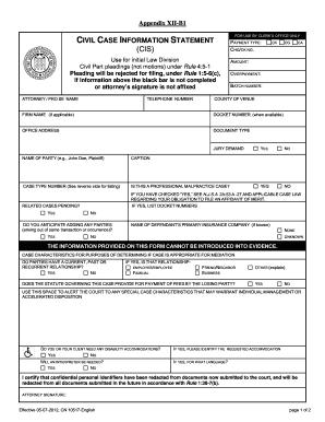 Civil Nj Form - Fill Online, Printable, Fillable, Blank | PDFfiller