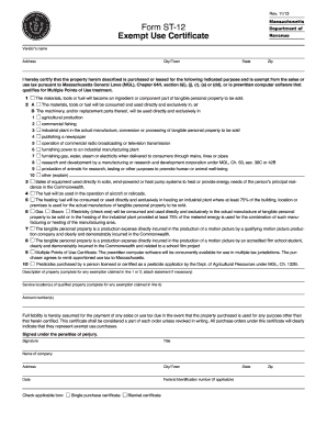 2013-2017 Form MA DoR ST-12 Fill Online, Printable, Fillable ...