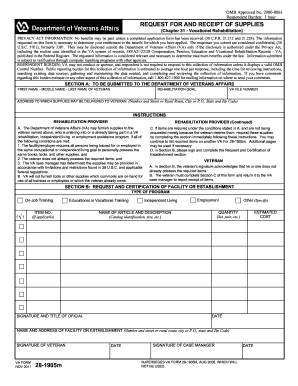 2011 2019 Form Va 28 1905m Fill Online Printable Fillable Blank