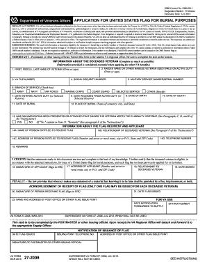 va form 27 2008 Fill Online, Printable, Fillable, Blank - PDFfiller