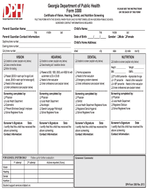 sports physical form georgia 2018  Dekalb County Sports Physical Form - Fill Online, Printable ...