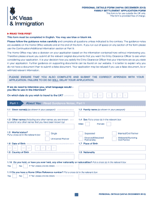 2013-2017 Form UK VAF4A Fill Online, Printable, Fillable, Blank ...