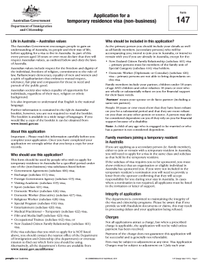 australia business visa online application