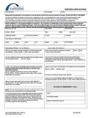 2013 2018 form wa doc 20 60 fill online printable fillable blank washington state corrections visiting form altavistaventures Choice Image