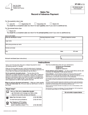 nys sales tax forms st 330 2013