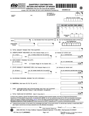 2014-2017 Form CA DE 9 Fill Online, Printable, Fillable, Blank ...