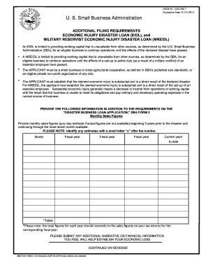 2012-2017 Form SBA 1368 Fill Online, Printable, Fillable, Blank ...