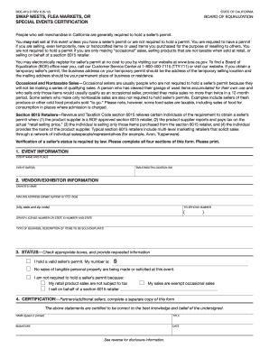 2012-2017 Form CA BOE-410-D Fill Online, Printable, Fillable ...