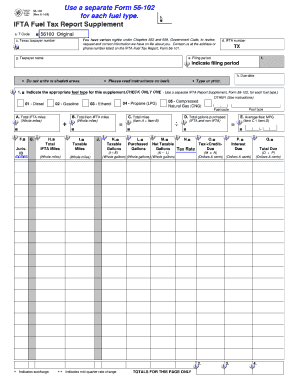 2014 Form TX Comptroller 56-102 Fill Online, Printable, Fillable ...