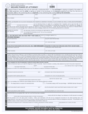 Bill Of Sale Form New Jersey Motor Vehicle Power Of Attorney Form ...