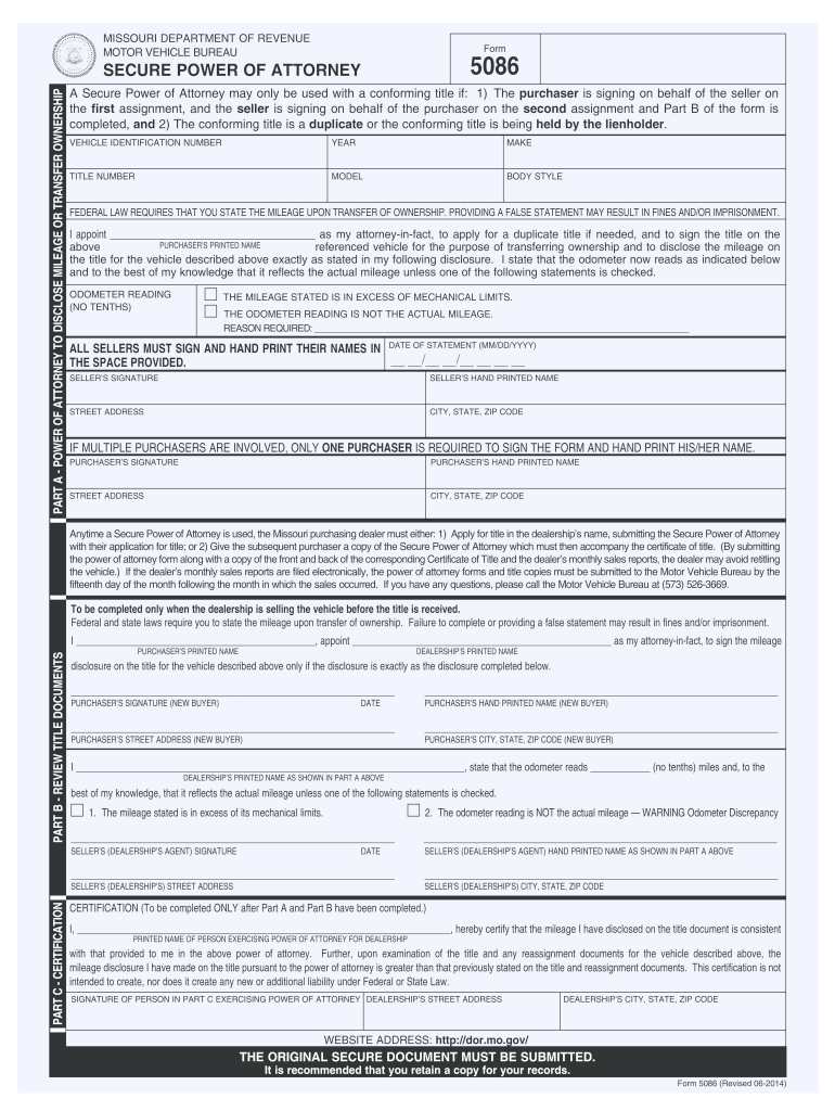 2017 2020 Form Mo 5086 Fill Online