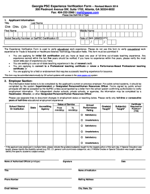 employer assurance form
