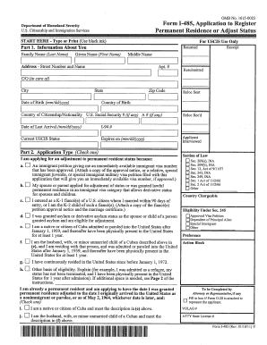 2011 Form USCIS I-485 Fill Online, Printable, Fillable, Blank ...