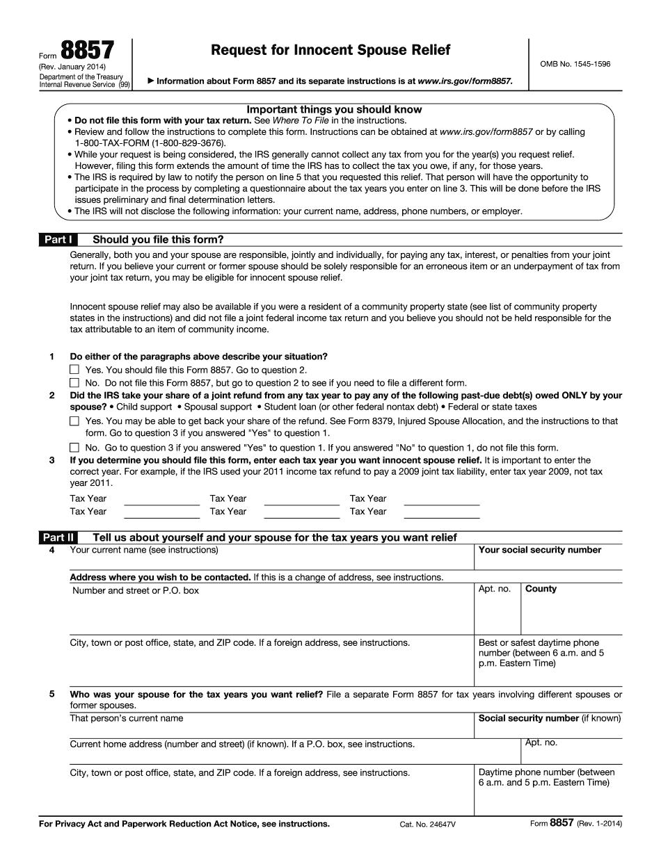 Form 8857