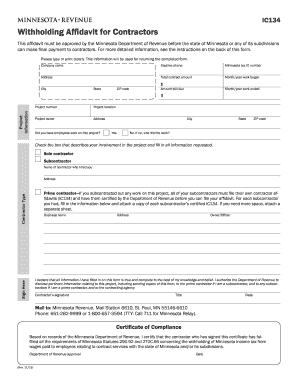 2015-2017 Form MN DoR IC134 Fill Online, Printable, Fillable ...