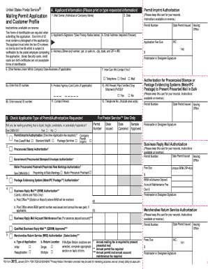 2014-2017 Form USPS PS 3615 Fill Online, Printable, Fillable ...