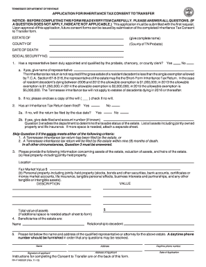 2013-2017 Form TN RV-F1400301 Fill Online, Printable, Fillable ...
