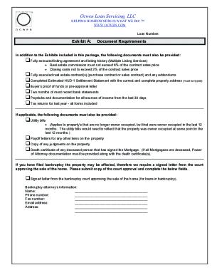 ocwen form - PDFfiller