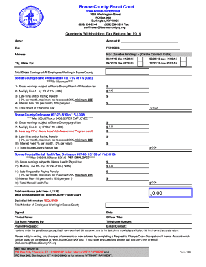 2016 Form KY 1906 - Boone County Fill Online, Printable, Fillable ...