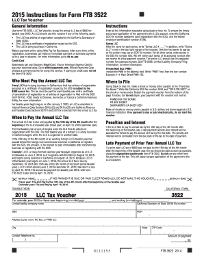 2015 Form CA FTB 3522 Fill Online, Printable, Fillable, Blank ...