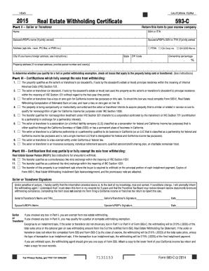 2015 Form CA FTB 593-E Fill Online, Printable, Fillable, Blank ...