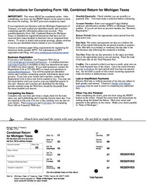 2012-2017 Form MI DoT 160 Fill Online, Printable, Fillable, Blank ...