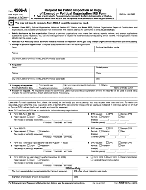 2014-2017 Form IRS 4506-A Fill Online, Printable, Fillable, Blank ...