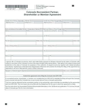 2014 Form CO DoR 106 Fill Online, Printable, Fillable ...