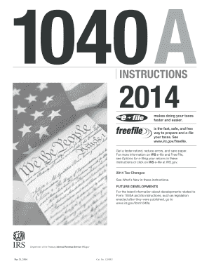 2014 form irs instruction 1040 a fill online printable for 1040 form 2011 tax table