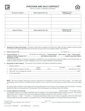 vt contract form