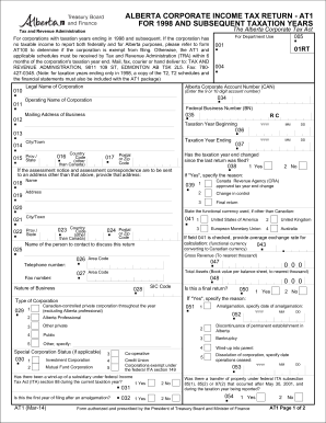 2014-2017 Form Canada AT1 Fill Online, Printable, Fillable, Blank ...