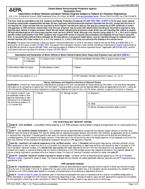 2014-2017 Form EPA 3520-1 Fill Online, Printable, Fillable, Blank ...