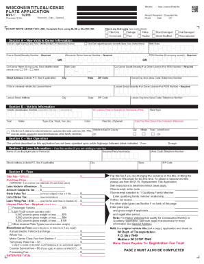 mv1 wisconsin - PDFfiller
