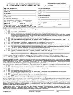 2015-2017 Form TX DL-43 Fill Online, Printable, Fillable, Blank ...