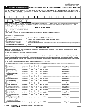 2013-2017 Form VA 21-0960M-9 Fill Online, Printable, Fillable ...