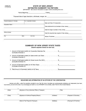 2013-2017 Form NJ A-5052-TC Fill Online, Printable, Fillable ...
